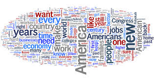 sotu america new jobs time stand out in obama s state wordle sotu america new jobs time stand out in obamas state