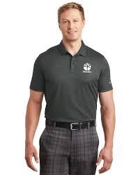 Nike Golf 838965 Dri Fit Crosshatch Polo Shirt For Men