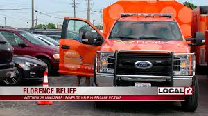 matthew 25 deploys volunteers to north carolina to help with disaster relief