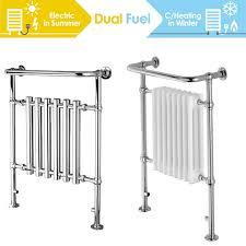 Details Zu Enki Handtuchhalter Heizkörper Dual Fuel Badezimmer Zentralheizung Elektrisch