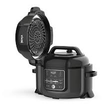 ninja foodi 6 5 quart tendercrisp pressure cooker black op300 walmart