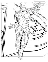 Avengers Infinity War Coloring Pages Printable Avengers Coloring