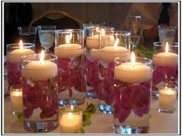 Floating Candles Ideas | Floating Candle Centerpieces