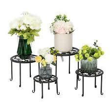 black garden shelf outdoor indoor decor