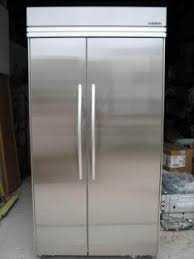 Perfect Kitchenaid Superba 42 Refrigerator Built In Ss With On Design Ideas