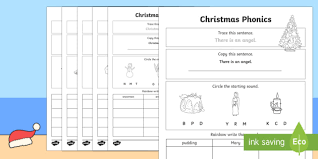 See our extensive collection of esl phonics materials for all levels, including word lists, sentences, reading passages, activities, and worksheets! Christmas Phonics Worksheets F 2 English Resources