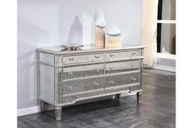 mirror finish furniture. Florentine Antique Mirrored 6 Drawer Dresser In Silver Finish Mirror Furniture I