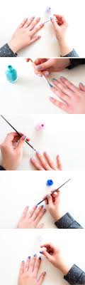 Brush It Off: DIY Brushstroke Nail Art Inspired by Something You ...