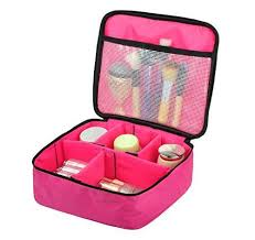 case portable brushes case toiletry bag