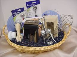 picture of cooking gift basket unwrapped chef s basket