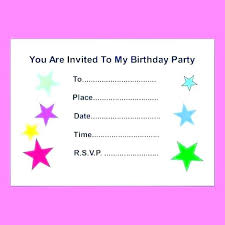 Design Your Own Birthday Party Invitations Create Birthday Party Invitations And Create Birthday Itation Card