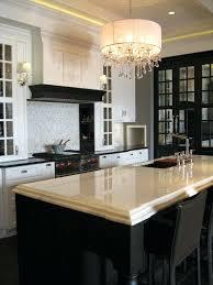 kitchen crystal chandelier the design district gorgeous black white kitchen design with crystal chandelier black mirrored