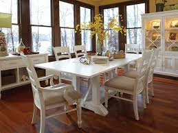 fantastic white distressed dining room table with pertaining to idea 14