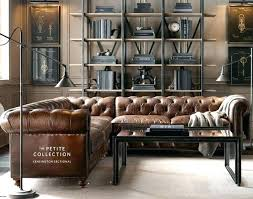 restoration hardware leather couch. Leather Sofas:Leather Sofa Restoration Hardware Chesterfield Kit Couch E