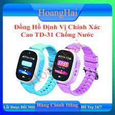 VIDEO CALL-CÓ TIẾNG VIỆT-BẢN 2020] Đồng hồ định vị trẻ em TD-31 độ chính xác  cao- Định Vị GPS, Wifi, Chống nước IP67