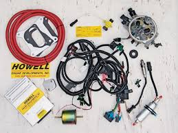 131 0803 14 z howell fuel injection amc v8 kit wiring harness 131 0803 02 z howell fuel injection amc v8 kit components