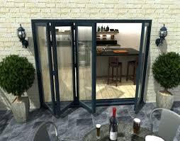 how secure are external bifold doors climadoor bi fold doors with glass frameless glass bifold doors