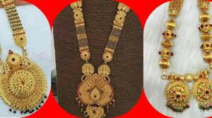 Ganthan Design In Gold 1 Gram Gold Long Ganthan Designs Ll Latest One Gram Gold Jewellery Design