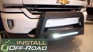 2009 Chevy Silverado Led Light Bar Silverado Sierra Lund Bull Bar W Led Light Bar Wiring Black Revolution 2007 2018 Installation