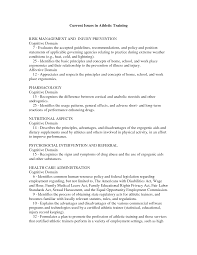 College Athletic Trainer Cover Letter Grasshopperdiapers Com