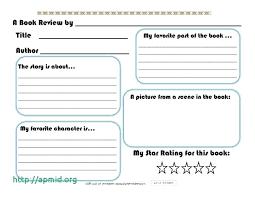 printable books for second grade book report template grade unique book review template printable 6th grade