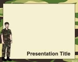 Army Powerpoint Template Mytemplates