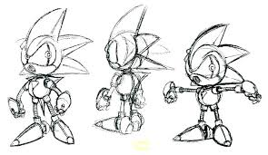 Metal Sonic Coloring Pages Print Sonic Sonic Metal Sonic Printable