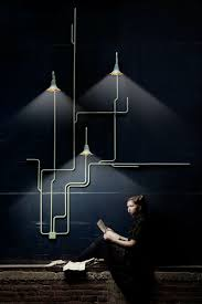 design of lighting. dutch design duo nathan wierink and tineke beunders of ontwerpduo light forest is a modular system lighting which may be pieced together in an t