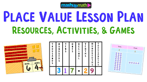Place Value Lesson Plan Resources The Best Of The Best