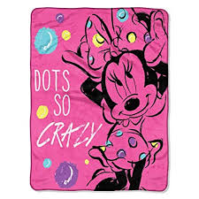 Minnie Mouse Throw Blanket