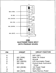 tracer lts anybody have wiring diagram for the stereo system merc premium sound amp