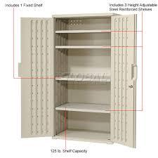 plastic storage cabinets. cabinets | plastic storage cabinet 36x22x72 - light gray 184636gy www.globalindustrial.ca t