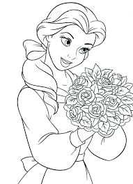 Disney Princess Coloring Pages Games Frozen Printable Peach For ...