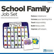 School Family Job Set Conscious Discipline Conscious