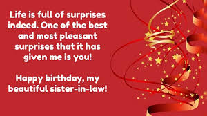 Beautiful Birthday Quotes For Sister In Law Best Of Top 24 Birthday Quotes For Sister In Law With Images