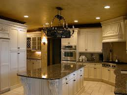 astonishing home interior design ideas using tuscan style flooring fabulous u shape kitchen decoration using