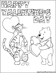 Small Picture Valentine Coloring Pages Pictures Of Valentines Day Printable