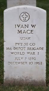 Ivan Warner Mace (1892-1962) - Find A Grave Memorial