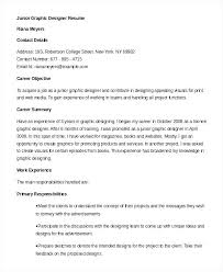 Graphic Designer Career Objective Entry Level Graphic Design Resume Changhokim Info