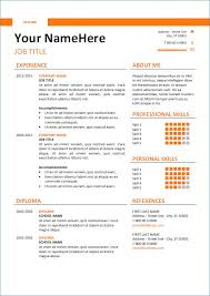 Free Resume Template For Word Resume Writing Service