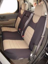 honda ridgeline standard color seat covers rear seats