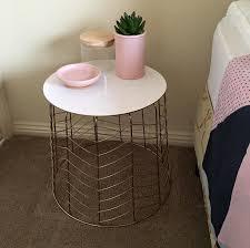 bedside table by nola dixon