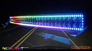 Best Rgb Light Bar Nicolight Chaser Led Light Bars Detailed Look In 4k