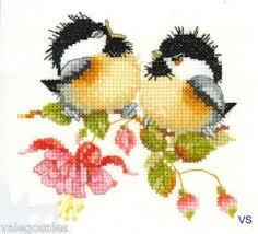 Fuchsia Chick Chat By Valerie Pfeiffer Harmonies Cross