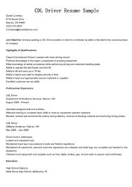 Resume Truck Driver Resume Summary Regularguyrant Best Resume