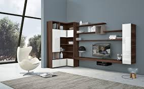 Modern Living Room Wall Units With Storage Inspiration Home
