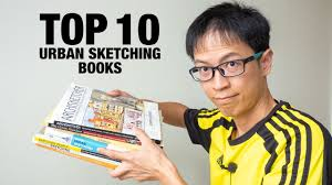 Do you guys sketch much in your home? Top 10 Urban Sketching Books Youtube