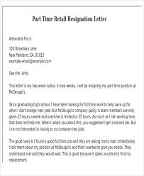 Two Week Resignation Letter Fascinating 48 Simple Resignation Letter Samples Free Premium Templates