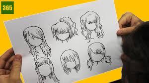 Comment Dessiner Anime Comment Dessiner Les Cheveux Manga Youtube