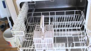 another countertop dishwasher option is this spt model which offers a delay start feature that can go up to eight hours this model also includes six